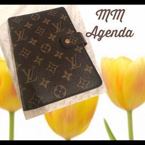 Louis Vuitton Monogram MM Agenda Planner